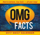 OMG Facts - 2017 Boxed Calendar Calendriers