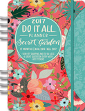 Secret Garden 17-Month - 2017 Weekly Planner w/Stickers Calendars