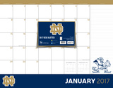 University of Notre Dame - 2017 Desk Blotter Calendars