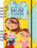 Mom's Do It All 17-Month - 2017 Weekly Planner w/Stickers カレンダー