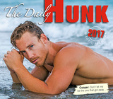 The Daily Hunk - 2017 Boxed Calendar Kalendrar