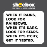 Hallmark Shoebox - 2017 Boxed Calendar Calendars