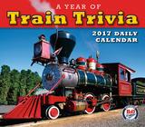 A Year of Train Trivia - 2017 Boxed Calendar Calendriers