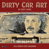 Dirty Car Art - 2017 Calendar - Takvimler