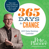 365 Days to Change Pete the Planner - 2017 Boxed Calendar Kalendarze