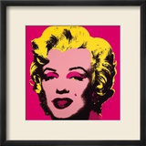 Andy Warhol - Marilyn Monroe, 1967 (hot pink) - Poster