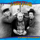 The Three Stooges - 2017 Calendar Kalendere