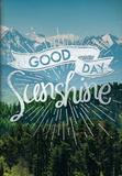 Good Day Sunshine Pocket Planner - 2017 Monthly Pocket Planner - Takvimler