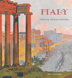 Italy: Vintage Travel Posters - 2017 Calendar Calendars