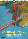 National Parks - 2017 Poster Calendar Calendars