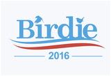 Birdie Sanders (White) Poster