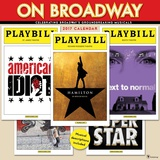 On Broadway - 2017 Calendar Calendriers