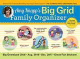 Amy Knapp Big Grid - 2017 Calendar Calendars