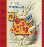 Alice in Wonderland - 2017 Calendar Calendriers