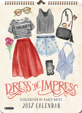 Dress to Impress - 2017 Poster Calendar Kalendarze