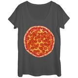 Womans: Ummm Pizza Scoop Neck Vêtements