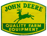 John Deere Wood Sign