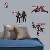 Captain America Civil War Peel and Stick Wall Decals Wall Decal