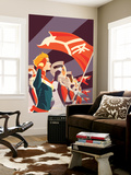 Captain Marvel No.2 Cover Wall Mural