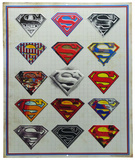 Superman Sketch Tin Sign