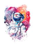 Astronaut Prints by  okalinichenko