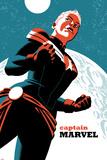 Captain Marvel No.2 Cover Metal Print