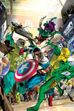 Captain America: Sam Wilson No.6 Cover, Featuring Puff Adder, Falcon (Joaquin Torres) and More Posters by Oscar Jimenez