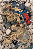 Spidey No.2 Panel, Featuring Sandman and Spider-Man Photo