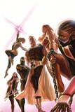 Squadron Supreme No.1 Cover, Featuring Doctor Spectrum, Power Princess, Nighthawk and More Posters