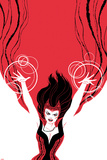 Cover, Featuring Scarlet Witch Metal Print