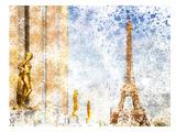 City Art Paris Eiffel Tower II Posters by Melanie Viola