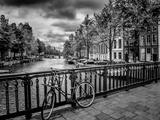 Amsterdam Gentlemen's Canal Giclée-trykk av Melanie Viola