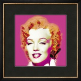 Marilyn in Pink Prints by Wyndham Boulter