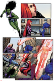 A-Force No.2 Panel, Featuring She-Hulk, Medusa, Singularity and Antimatter Posters by Jorge Molina