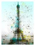 City Art Paris Eiffel Tower Posters by Melanie Viola