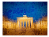 Modern Art Berlin Brandenburg Gate Prints by Melanie Viola