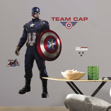 Captain America Civil War Peel and Stick Giant Wall Decals Kalkomania ścienna