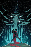 New Avengers No.6 Cover, Featuring Moridun and Wiccan Posters