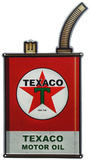 Texaco Oil Can Tin Sign