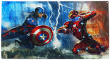 Captain America Civil War Cartel de chapa