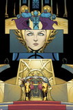 Mighty Thor No.3 Panel, Featuring Frigga and Odin Posters