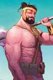 Hercules No.2 Cover Posters by Russell Dauterman