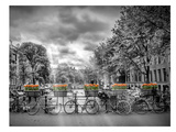 Typical Amsterdam Giclée-trykk av Melanie Viola