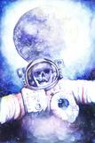 Deceased Astronauts in Space Prints by  viktoria