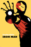 Invincible Iron Man No.6 Cover Metal Print