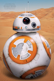 Star Wars: The Force Awakens- BB-8 On Jakku Plakater