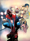 Spidey No.2 Cover, Featuring Flint Marko, Spider-Man, Peter Parker and Gwen Stacy Prints