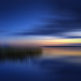 Scenery Art Finland Sunset Poster di Melanie Viola