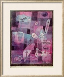 Analysis of Diverse Perversities, 1922 Framed Giclee Print by Paul Klee