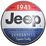Jeep Dome Sign Tin Sign